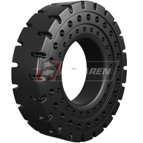 All Terrain - solid cushion tires for heavy equipment