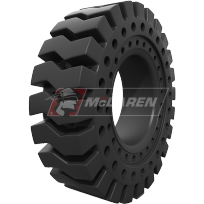 Rocky Terrain - solid cushion tires for heavy equipment